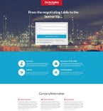 Landing Page  Template 55575