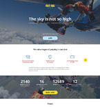 Sport Landing Page  Template 55576