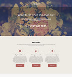 Society and Culture Landing Page  Template 55577