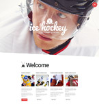 Sport WordPress Template 55579