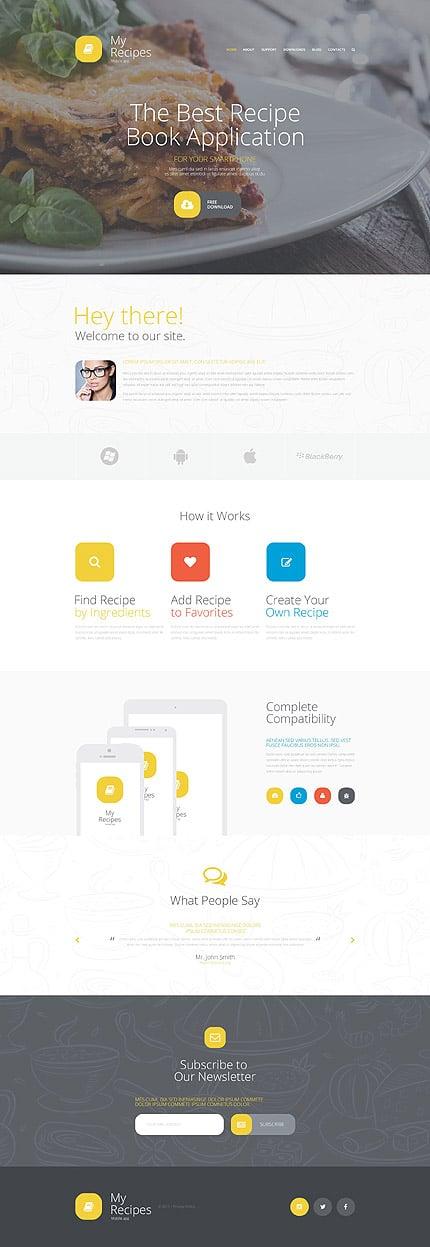 Joomla Theme/Template 55582 Main Page Screenshot