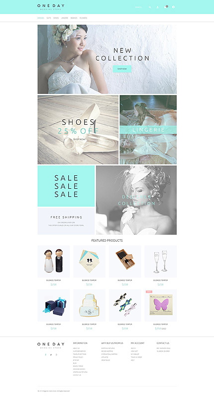 Magento Theme/Template 55583 Main Page Screenshot