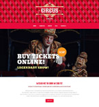 Entertainment WordPress Template 55589