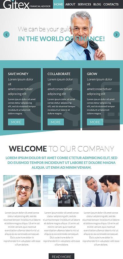 Joomla Theme/Template 55590 Main Page Screenshot