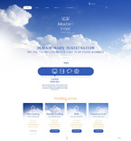 Web Hosting Joomla  Template 55596