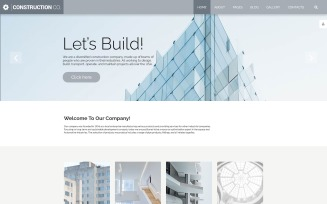 Construction Co. - Construction Company Multipage Corporative Joomla Template