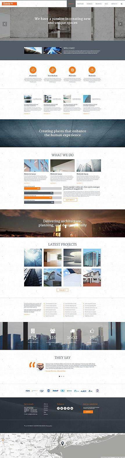 Joomla Theme/Template 55598 Main Page Screenshot