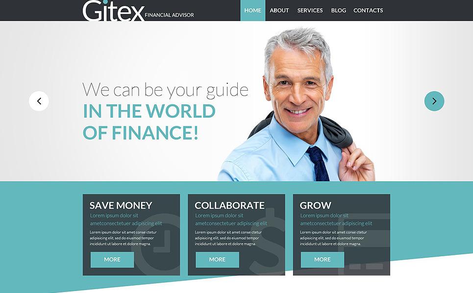 Адаптивний Joomla шаблон на тему фінансова консультація New Screenshots BIG