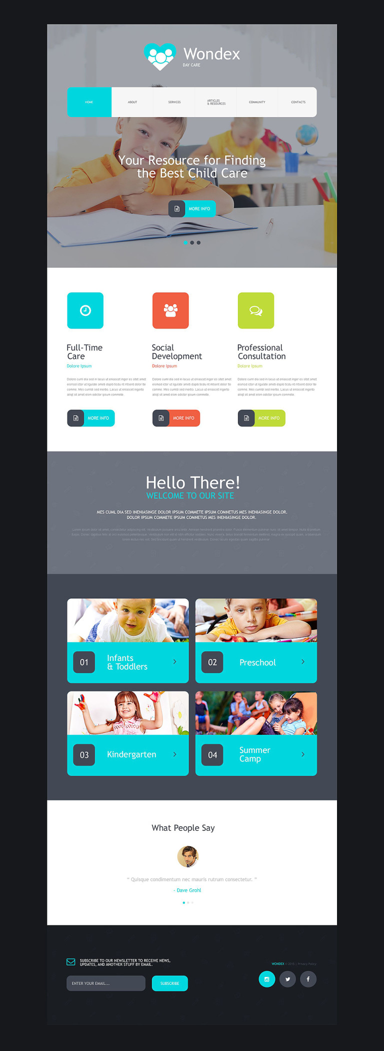 Day Care Muse Template New Screenshots BIG