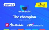 Monstroid - Адаптивний WordPress шаблон