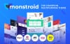 """Monstroid"" Responsive WordPress thema"