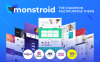 Monstroid WordPress Theme Großer Screenshot