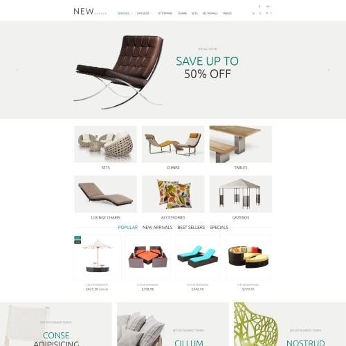 New Garden - PrestaShop Template based on Bootstrap