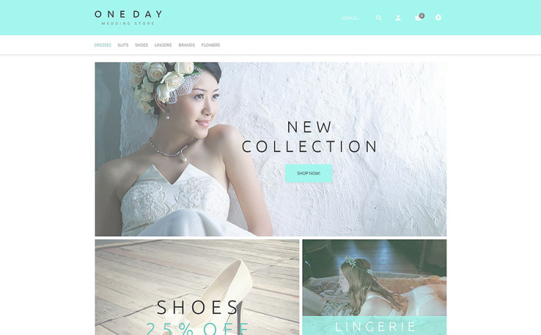 One Day Magento Theme