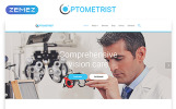 """Optometrist - Medical Clinic Responsive Clean HTML"" modèle web adaptatif"