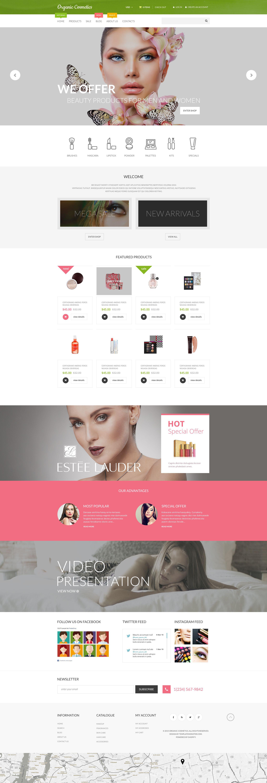 Organic Cosmetics №55549 - скриншот