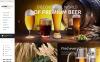 Plantilla OpenCart para Sitio de Cervecería New Screenshots BIG