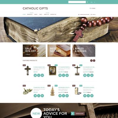 Catholic Church Responsive Shopify Teması