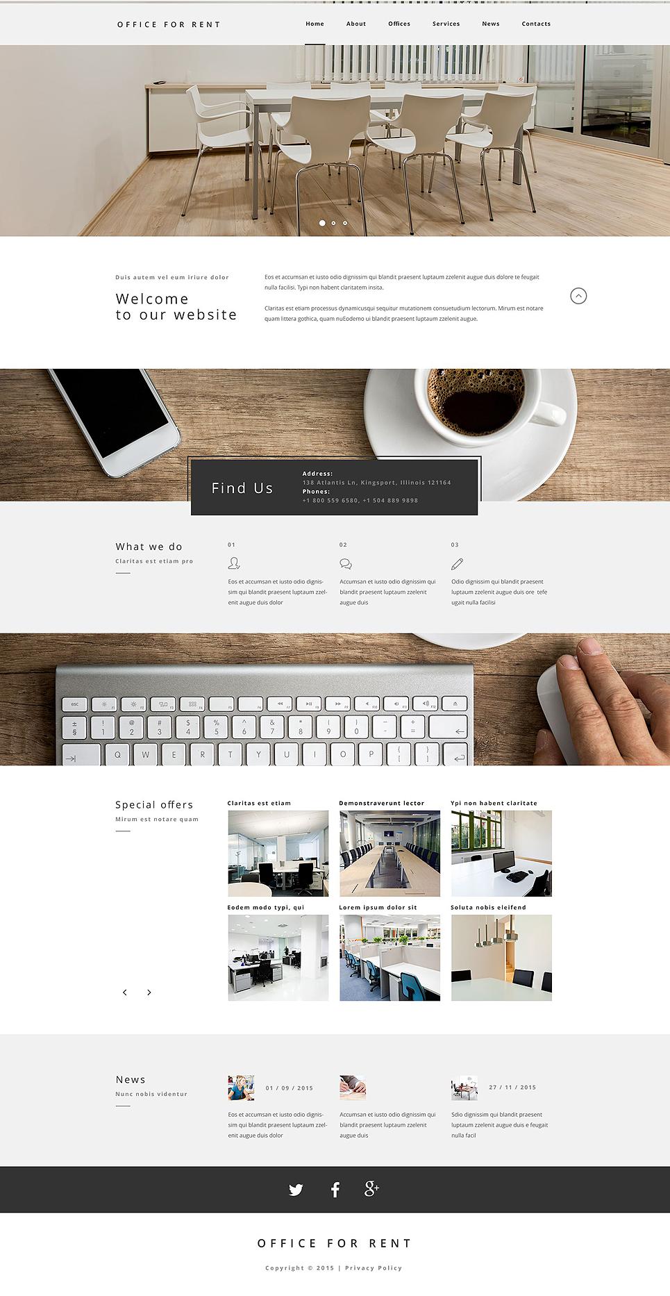 Küchenordnung Büro Vorlage ~ website vorlage #55573 für büro