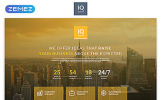 Responsywny szablon Landing Page IQ - Consulting Modern HTML #55542