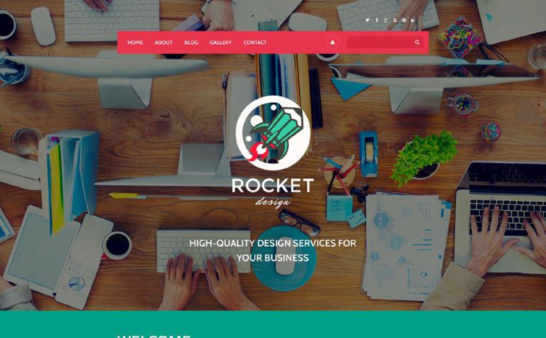 Rocket Design Drupal Template