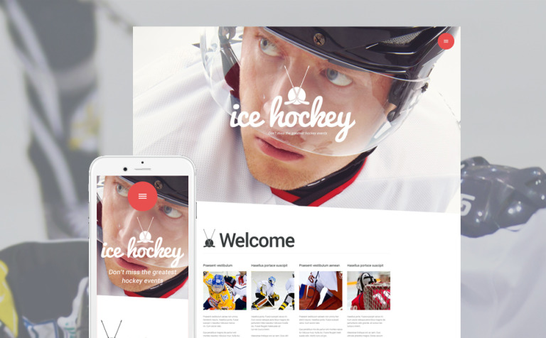 Sports Blog WordPress Theme New Screenshots BIG