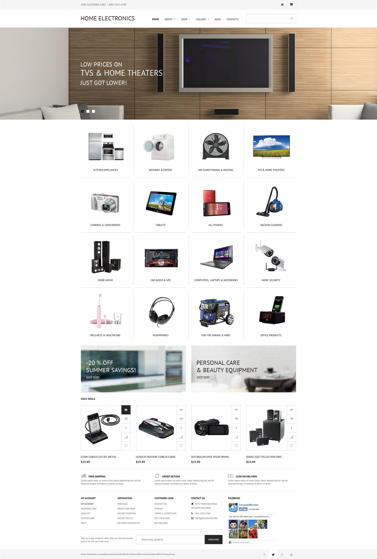 "Tema WooCommerce ""Electrodomésticos"" #55574"
