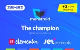 "WordPress Theme namens ""Monstroid"""