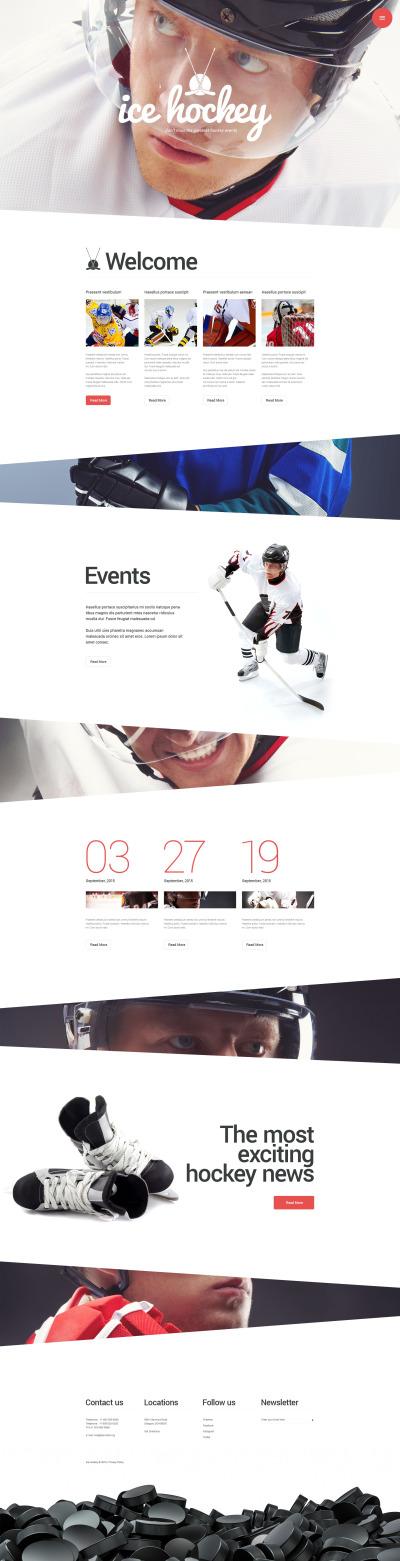 "WordPress Theme namens ""Sportblog"" #55579"