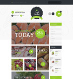 Food & Drink OpenCart  Template 55608