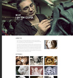 Art & Photography Website  Template 55611