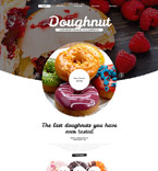Food & Drink Website  Template 55613