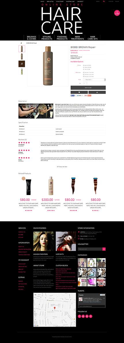 ADOBE Photoshop Template 55617 Home Page Screenshot