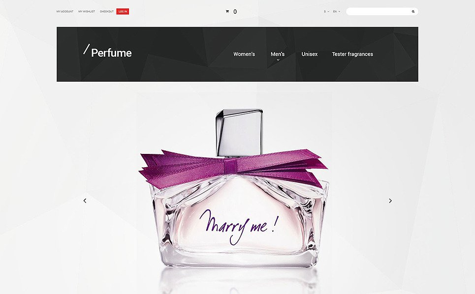 Responzivní Magento motiv na téma Kosmetický obchod New Screenshots BIG