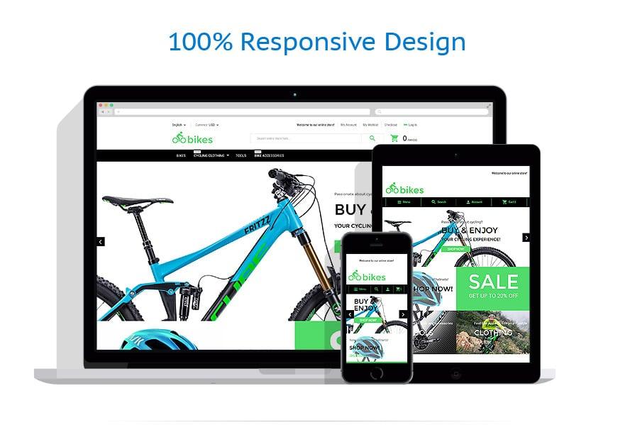 bike shop magento theme 55622 eigen website maken begint hier. Black Bedroom Furniture Sets. Home Design Ideas