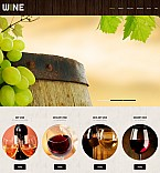 Food & Drink Moto CMS 3  Template 55627