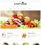Food & Drink Moto CMS 3  Template 55629