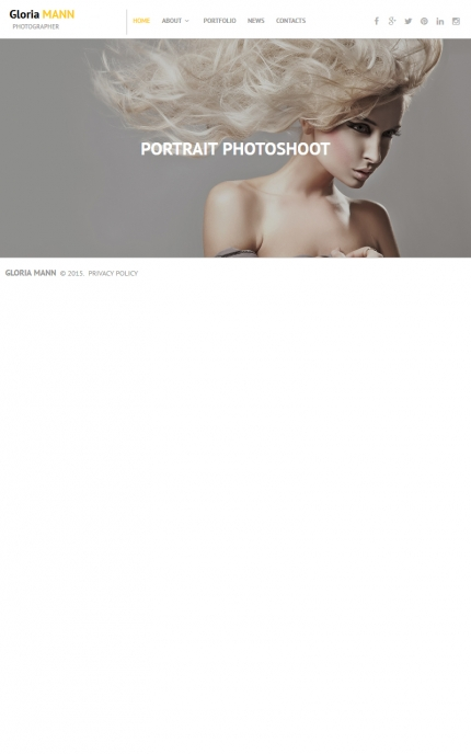 ADOBE Photoshop Template 55646 Home Page Screenshot