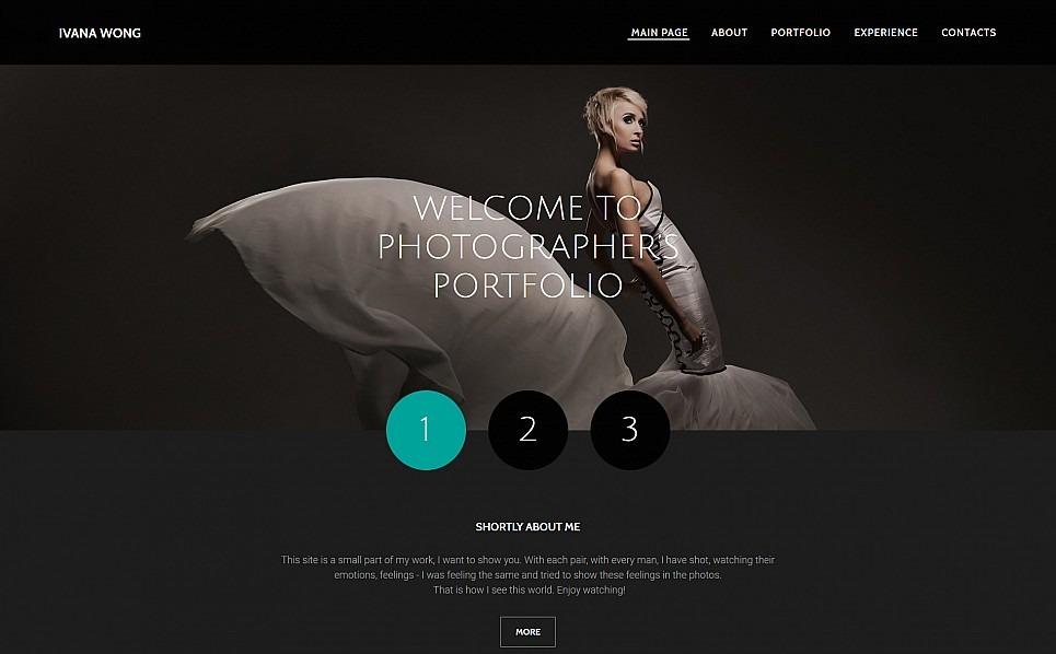 Modello Galleria di Foto Responsive #55649 per Un Sito di Fotografi Portfolio New Screenshots BIG