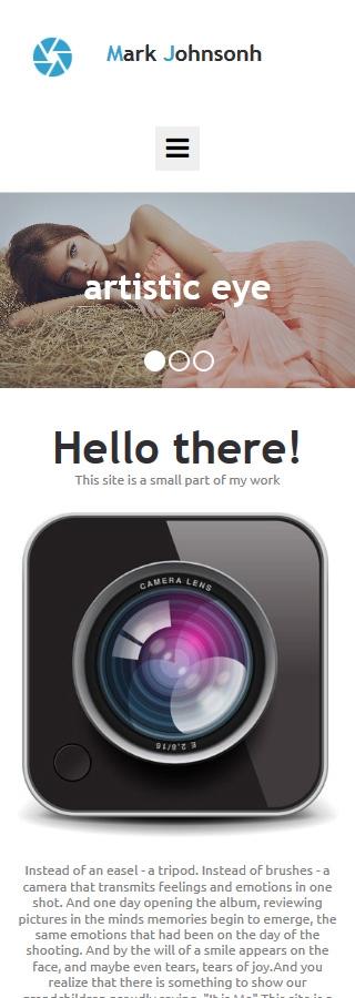 ADOBE Photoshop Template 55650 Home Page Screenshot