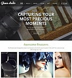 Art & Photography Photo Gallery  Template 55655