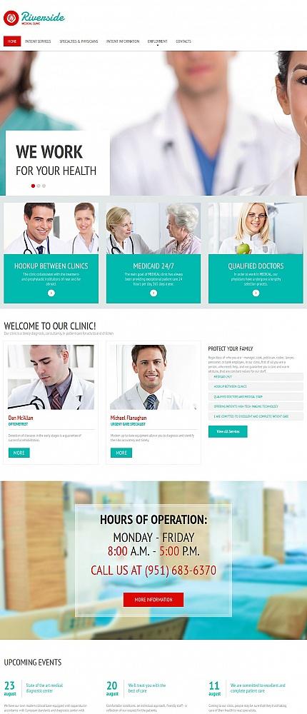 ADOBE Photoshop Template 55656 Home Page Screenshot