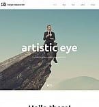 Art & Photography Moto CMS HTML  Template 55657
