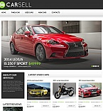 Cars Moto CMS HTML  Template 55662