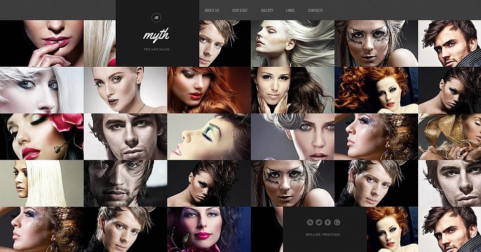 Myth HTML Website Template - image