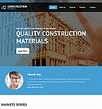 Architecture Moto CMS HTML  Template 55673