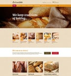 Food & Drink Website  Template 55679