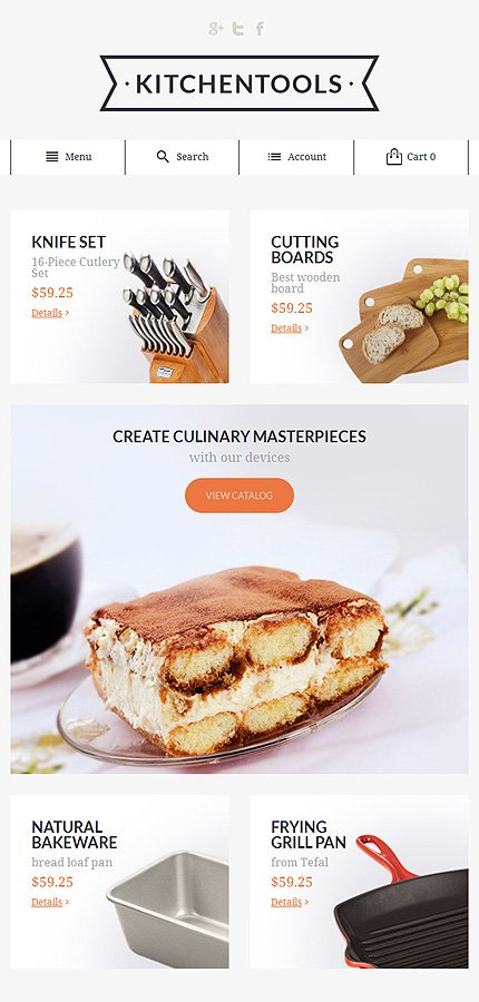 Magento Theme/Template 55684 Main Page Screenshot