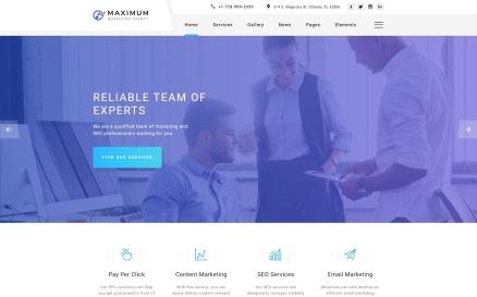 Maximum - Efficient Digital Agency Multipage HTML Website Template