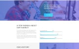 """Maximum - Efficient Digital Agency Multipage HTML"" Responsive Website template"